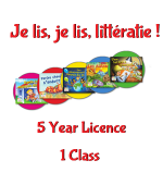 TEACHER Je lis! Online CDN School Licence - 5 Year